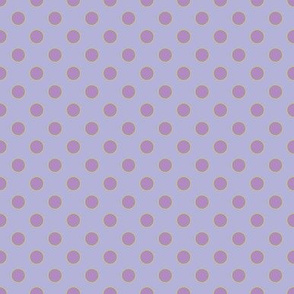 Light Purple with Orchid Dots