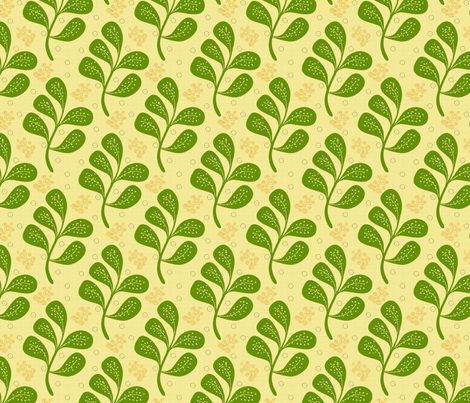 Green Flow fabric by brainsarepretty on Spoonflower - custom fabric