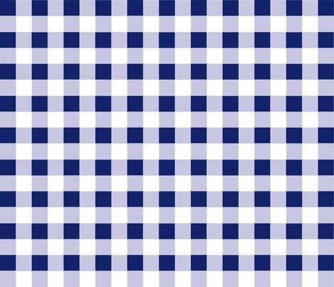 Check blue true fabric by sheila's_corner on Spoonflower - custom fabric