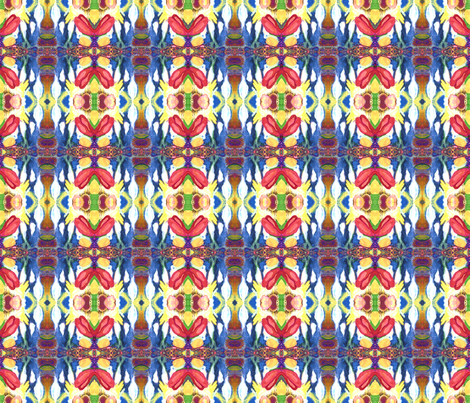 Earth Air Fire Water fabric by rubyrice on Spoonflower - custom fabric