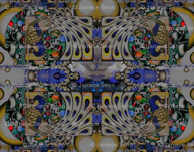 Nouveau Peacocks