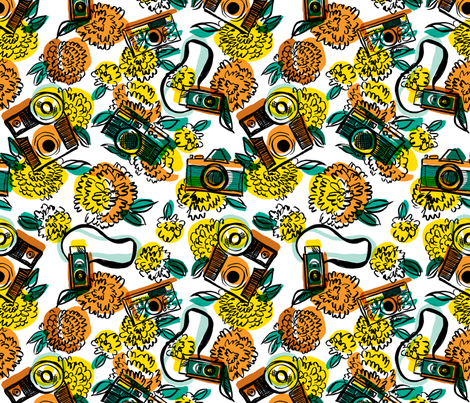 The Photographer fabric by red_velvet on Spoonflower - custom fabric