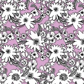 Forest Floor in Violet