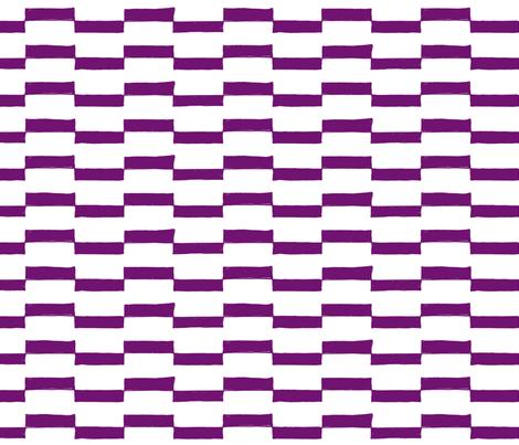 Dash Across in Violet fabric by red_velvet on Spoonflower - custom fabric