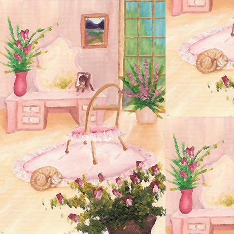 powderoom fabric by krs_expressions on Spoonflower - custom fabric