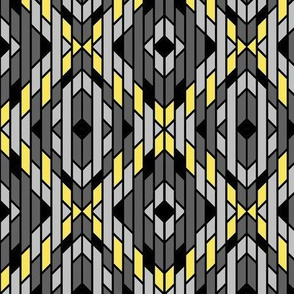 Art Deco Ikat