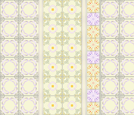cupcake-tiles3 fabric by wren_leyland on Spoonflower - custom fabric