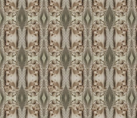 Saints Go Marching fabric by relative_of_otis on Spoonflower - custom fabric