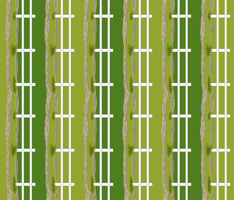 Double Fences fabric by khowardquilts on Spoonflower - custom fabric
