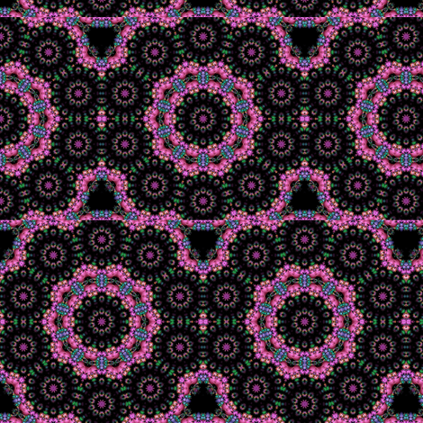 black & purple circle design fabric by krs_expressions on Spoonflower - custom fabric