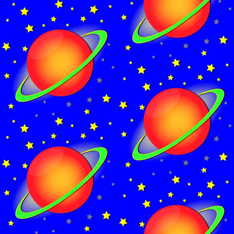 planet fabric by krs_expressions on Spoonflower - custom fabric
