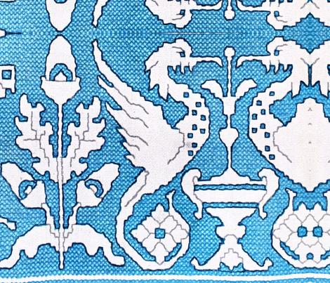 Beak_bird_design-ed fabric by kimbergay on Spoonflower - custom fabric