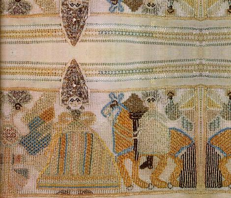 kokoshnik fabric by kimbergay on Spoonflower - custom fabric