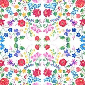hungarian folk floral