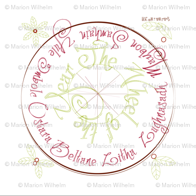 wheel_of_the_year_napkin_red_green