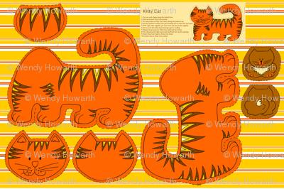 Kitty Cat - marmalade softie