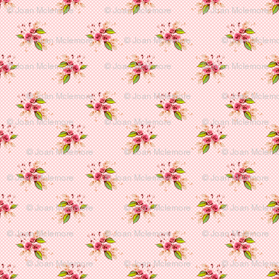 Parson's Pink Roses tiny