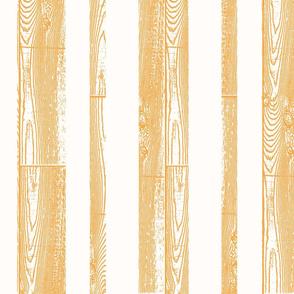 Orange wood stripes