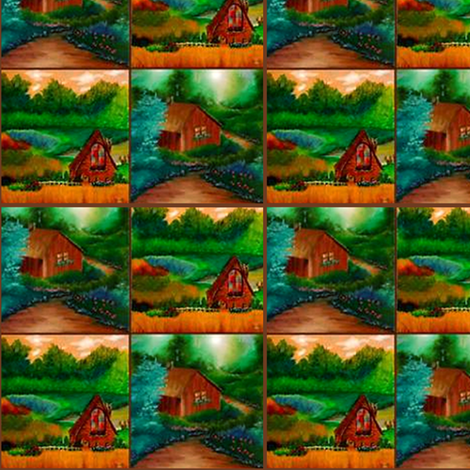 country cabins fabric by krs_expressions on Spoonflower - custom fabric