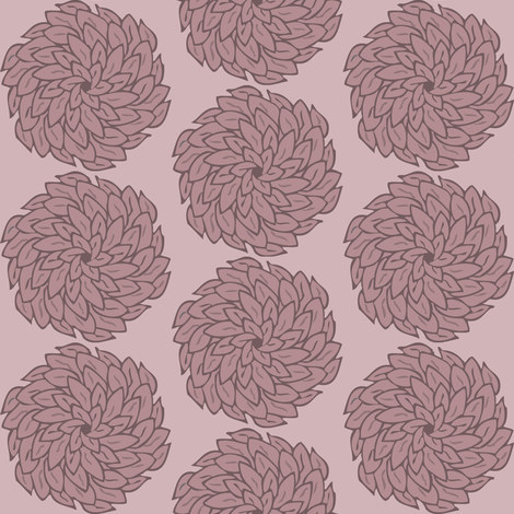flowercircle fabric by lilliblomma on Spoonflower - custom fabric