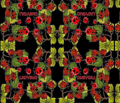 BUSY BUGS fabric by bluevelvet on Spoonflower - custom fabric