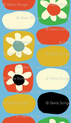 Flower Fancy- Multi-color