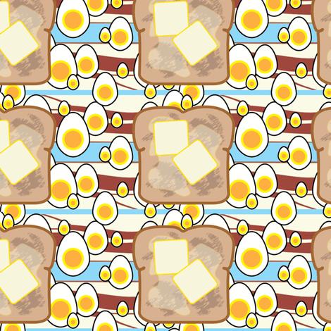 breakfast fabric by little_leah on Spoonflower - custom fabric