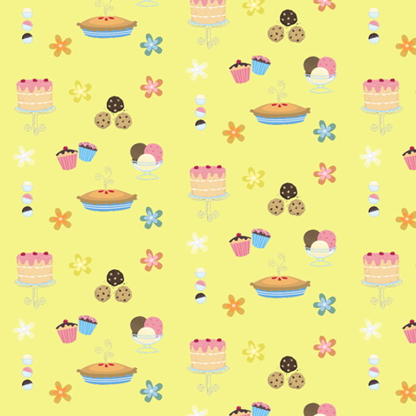 dessert  fabric by krs_expressions on Spoonflower - custom fabric