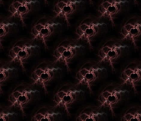 Blood Distortion fabric by eerie_doll on Spoonflower - custom fabric
