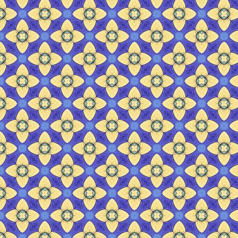 Elf Flower fabric by siya on Spoonflower - custom fabric
