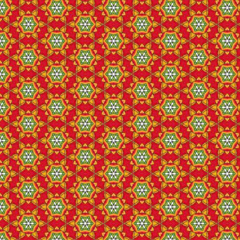 Cyompon's Fiesta Flower fabric by siya on Spoonflower - custom fabric