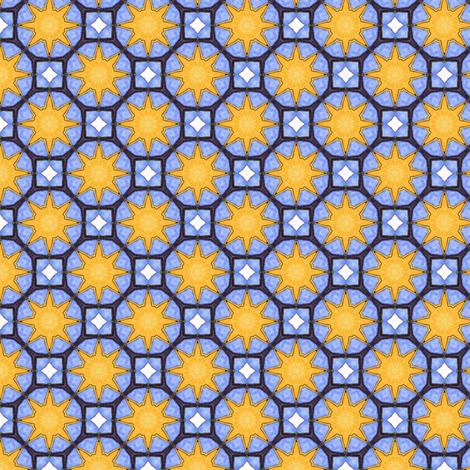 Parrot's Sun fabric by siya on Spoonflower - custom fabric