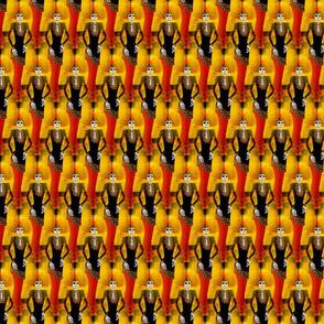 orangecatrinafabric