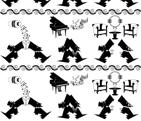 Deco_Dogs fabric by kiki_ on Spoonflower - custom fabric