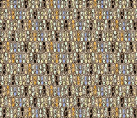 Vacuum Tube Glitter-1/3 fabric by glimmericks on Spoonflower - custom fabric