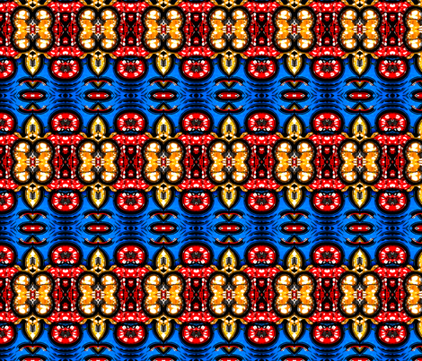 Stripes of Africa VI fabric by robin_rice on Spoonflower - custom fabric
