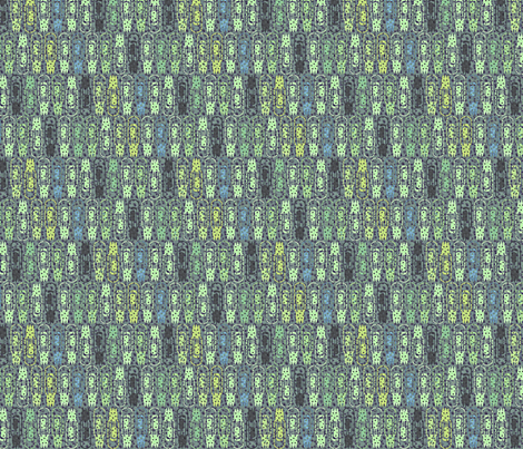 Vacuum Tube Green Tech-1/3 fabric by glimmericks on Spoonflower - custom fabric