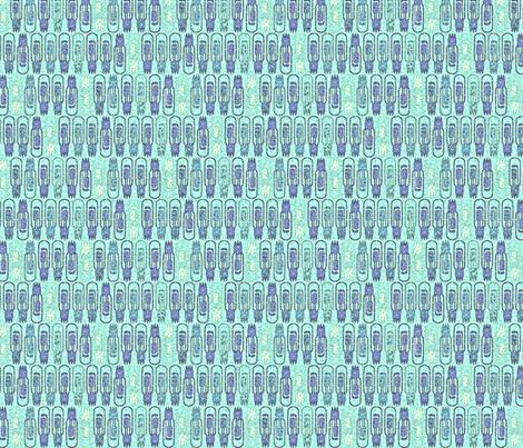 Vacuum Tube Oceanic-ed fabric by glimmericks on Spoonflower - custom fabric