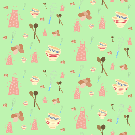 baking fabric by krs_expressions on Spoonflower - custom fabric
