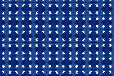 cestlaviv_Sally white STAR fabric by cest_la_viv on Spoonflower - custom fabric