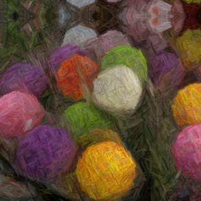 Colored Snowballs by Gary