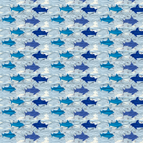 Sharks fabric by jackofalltradescrafter on Spoonflower - custom fabric