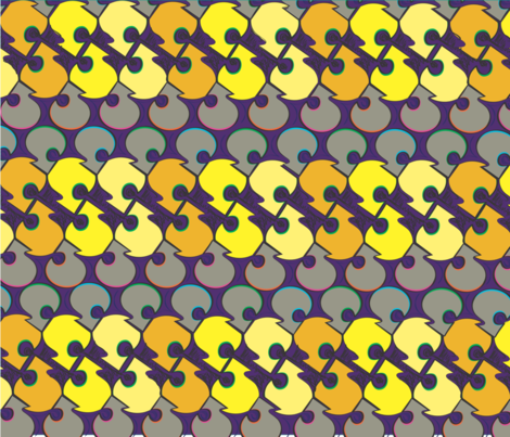 kmaggiolino_streetart_002 fabric by kmaggiolino on Spoonflower - custom fabric