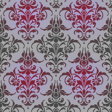 Rosalie fabric by peacoquettedesigns on Spoonflower - custom fabric