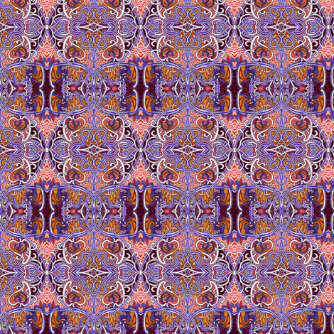 Moorish Ceilings fabric by edsel2084 on Spoonflower - custom fabric