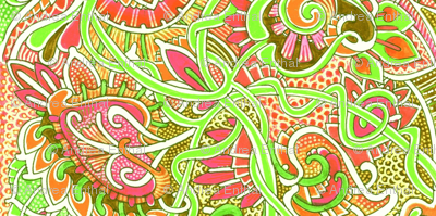 Hippy Dippy Oranges and Lime