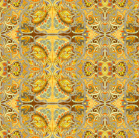 Good Day Sunshine fabric by edsel2084 on Spoonflower - custom fabric