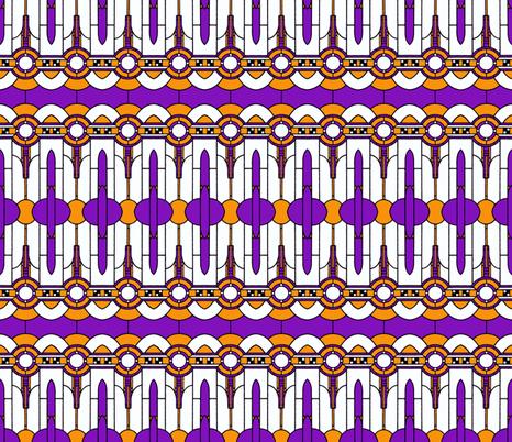 Art_Deco_redoux fabric by mammajamma on Spoonflower - custom fabric