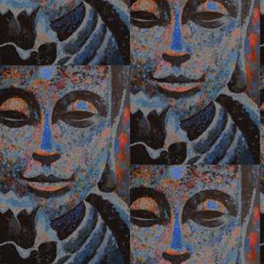 Blue Buddha Blossom by Gary