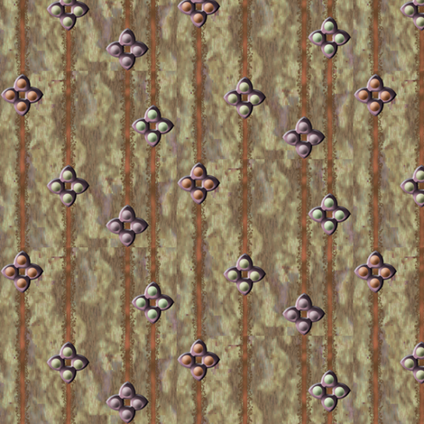 ©2011 wizard-ed fabric by glimmericks on Spoonflower - custom fabric
